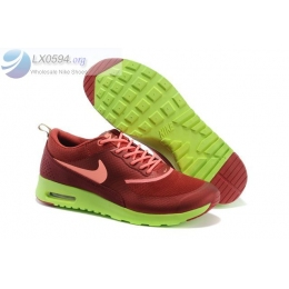 Nike Air Max Thea Print Brown Green running shoes