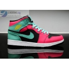 Womens Air Jordan 1 Retro Pink Volt Black