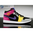 Girls Air Jordan 1 Retro Basketball Shoes