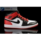 Air Jordan 1 Retro Womens White Black Red
