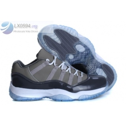 Air Jordan 11 Low Cool Grey Mens Sneakers