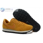Nike Air Pegasus 83 Suede Khaki Yellow Mens