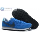 Nike Air Pegasus 83 Suede Mens Blue Grey Sneakers