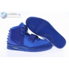 wholesale Nike Air Yeezy 2 All Blue