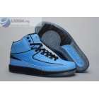 wholesale Air Jordan 2 Retro Blue Black Sneakers
