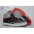 wholesale Air Jordan 2 Infrared 23 Black Red