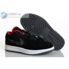 Womens Air Jordan 1 Low Black White Sneakers
