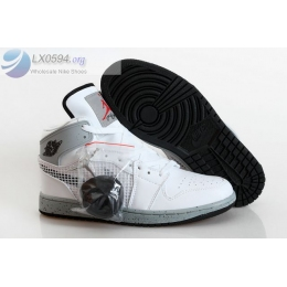 Air Jordan 1 Retro 89 White Cement Mens Sneakers