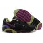 wholesale Nike Air Max 180 Mens Black Purple Gold