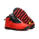 Womens Air Jordan 10 GS Fusion Red