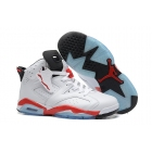 wholesale Womens Air Jordan 6 White Infrared basketball Shoes