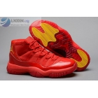 wholesale Air Jordan 11 All Red Basketball Shoes