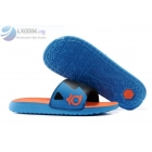 wholesale Nike KD Slides Mens Blue Black Orange Sandals
