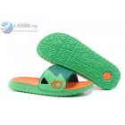 wholesale Nike KD Slides Mens Volt Green Orange Sandals