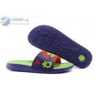 wholesale Nike KD Slides Mens Purple Red Volt Sandals
