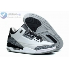 wholesale Air Jordan 3 Wolf Grey Womens Basketball Shoes