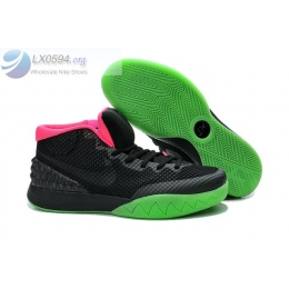 Nike Kyrie 1 Black Green Glow Mens Sneakers