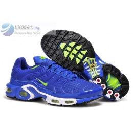 Nike Air Max Plus TN Blue White Mens Shoes