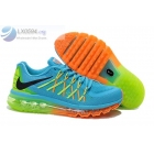 wholesale Nike Air Max 2015 Blue Mens Running Shoes