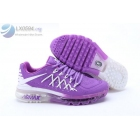 wholesale Womens Nike Air Max 2015 Purple Running Shoes