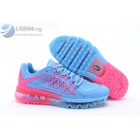 wholesale Womens Nike Air Max 2015 Blue Pink Shoes