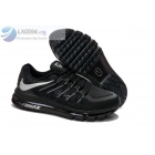 wholesale Womens Nike Air Max 2015 Black Running Shoes