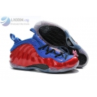 Nike Air Foamposite One Red Blue Mens Sneakers