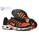 Nike Air Max Plus TN Black Orange Mens Shoes