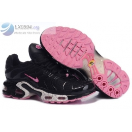 Womens Nike Air Max Plus TN Black Pink Shoes