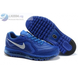 Nike Air Max 2014 Limited Edition Blue White Mens Sneakers