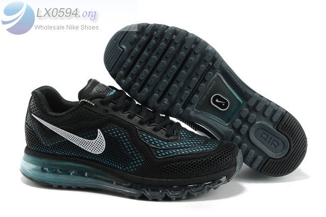 Nike Air Max 2014 Limited Edition Black Mens Sneakers 10939
