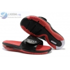 Nike Air Lebron 2 Slide Elite Black Red Mens Sandals
