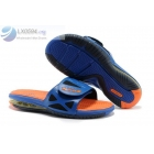 Nike Air Lebron 2 Slide Elite Blue Orange Mens Sandals