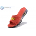 wholesale Nike Air Max 2015 Red Slide Sandals
