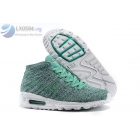 wholesale Nike Air Max Lunar 90 Flyknit Chukka Green Mens Sneakers