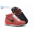 wholesale Nike Air Max Lunar 90 Flyknit Chukka Red Mens Sneakers