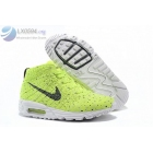 wholesale Womens Nike Air Max Lunar 90 Flyknit Chukka Volt