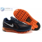 Nike Air Max 2014 Limited Edition Dark Blue Orange