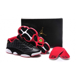 Air Jordan 13 Low Bred Womens Sneakers