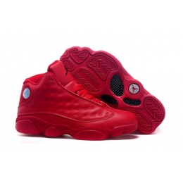 Air Jordan 13 Retro All Red mens Sneakers