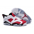 Air Jordan 6 Low GS Carmine Womens Sneakers