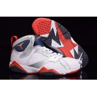 wholesale Air Jordan 7 Olympic White Silver