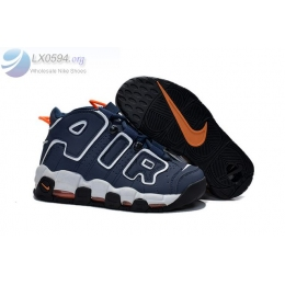 Nike Air More Uptempo Navy Blue Womens Shoes