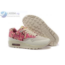 Womens Nike Air Max 1 MC SP Beige Pink Camo Shoes
