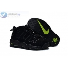 Womens Nike Air More Uptempo Black Volt Sneakers