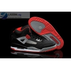 Air Jordan Spizike Black Grey Red