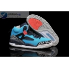 wholesale Air Jordan Spizike Turquoise Blue Mens Sneakers