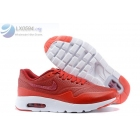 wholesale Nike Air Max 1 Ultra Moire Red White Womens Shoes