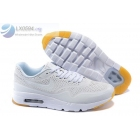 wholesale Womens Nike Air Max 1 Ultra Moire White Sneakers