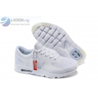 wholesale Nike Air Max Zero All White Mens Running Shoes